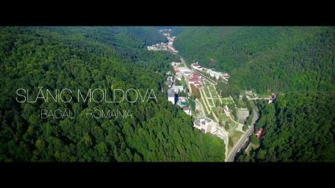 O scurta prezentare a statiunii Slanic Moldova vazuta de la inaltime.(disponibil si in 4K)